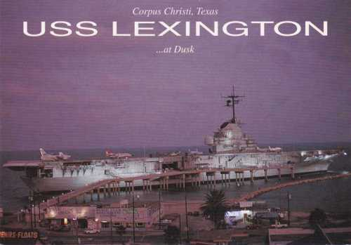 The USS Lexington is a floating museum.