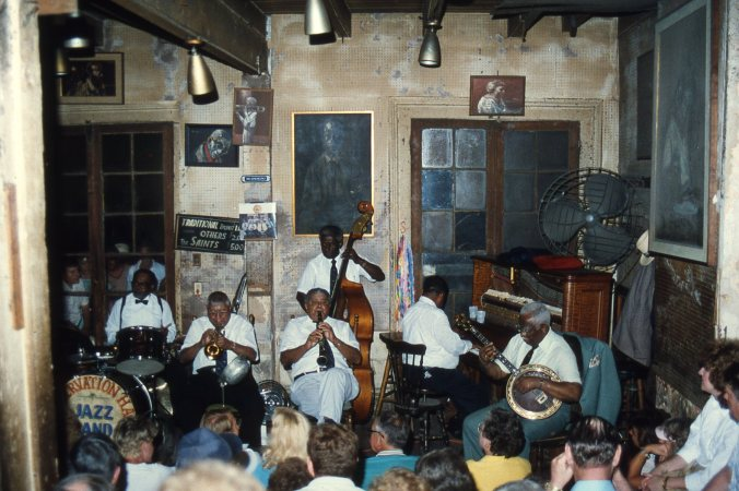 Preservation Hall, New Orleans, 1987